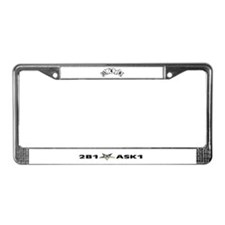 Cute Eastern star License Plate Frame