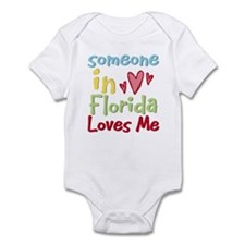 Someone in Florida Loves Me Infant Bodysuit