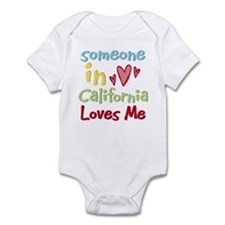 Someone in California Loves Me Infant Bodysuit