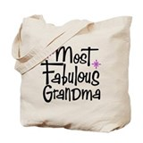 Most Fabulous Grandma Tote Bag