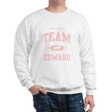 Team Edward (Pink) Sweatshirt