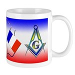 Masonic French Mug
