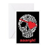 skullpirate02 Greeting Cards (Pk of 20)