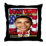 Inauguration Commemorative Edition Throw Pillow