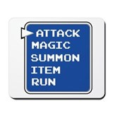 final fantasy attack magic summon item run gamer M