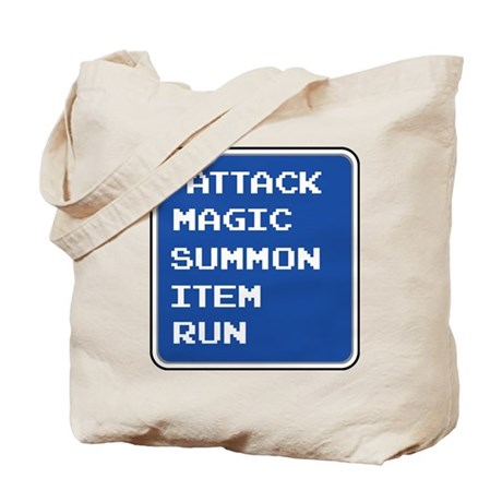 final fantasy attack magic summon item run gamer T