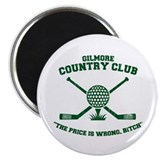 happy gilmore golf club funny Magnet
