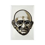 Mahatma Gandhi Rectangle Magnet (100 pack)