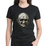 Mahatma Gandhi Women's Dark T-Shirt