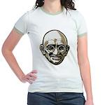 Mahatma Gandhi Jr. Ringer T-Shirt