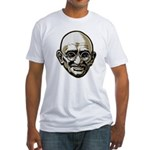 Mahatma Gandhi Fitted T-Shirt
