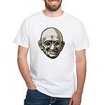 Mahatma Gandhi White T-Shirt