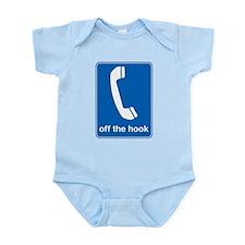 off the hook funny tshirt Infant Bodysuit
