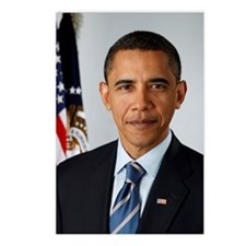 President Barack Obama Postcards (Package of 8)