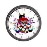 13hr Gnomes Wall Clock