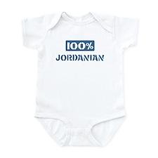 100 Percent Jordanian Infant Bodysuit