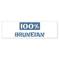 100 Percent Bruneian Bumper Sticker (50 pk)