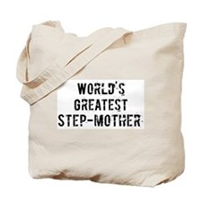 Worlds Greatest Step-mother Tote Bag
