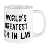 Worlds Greatest Son In Law Small Mug