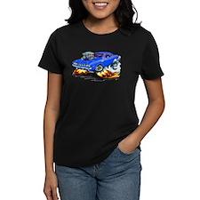 Plymouth Cuda Blue Car Tee