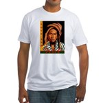 Love and Peace Fitted T-Shirt