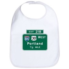 Portland, OR Highway Sign Bib