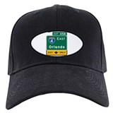 Orlando, FL Highway Sign Baseball Hat