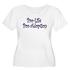 Pro-Life Pro-Adoption T-Shirt