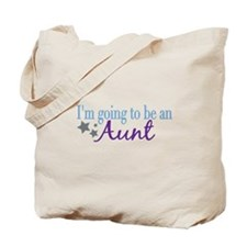 Going to be an Aunt Tote Bag