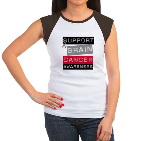 BrainCancerSupport Women's Cap Sleeve T-Shirt