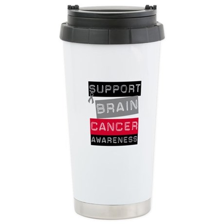 BrainCancerSupport Ceramic Travel Mug