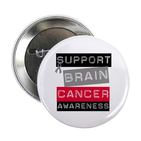 "BrainCancerSupport 2.25"" Button"