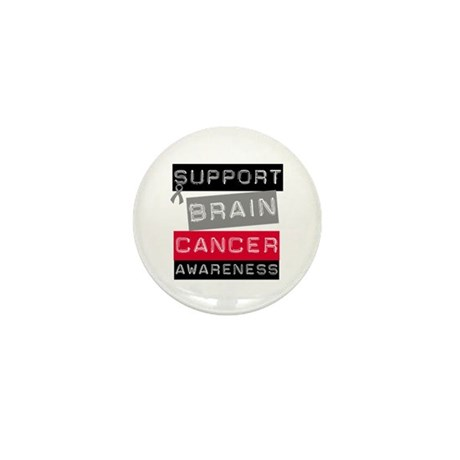 BrainCancerSupport Mini Button (10 pack)