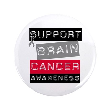 "BrainCancerSupport 3.5"" Button"
