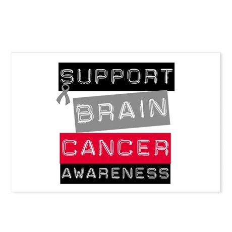 BrainCancerSupport Postcards (Package of 8)