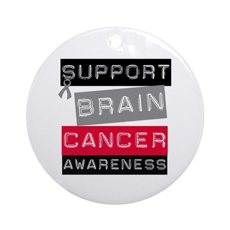 BrainCancerSupport Ornament (Round)
