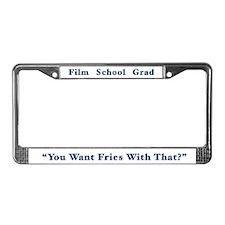 Unique School License Plate Frame