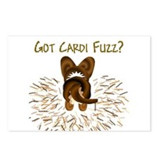 Brindle Cardi Got Fuzz? Postcards (Package of 8)