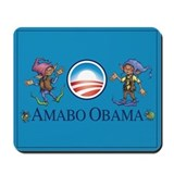 Amabo Obama Mousepad