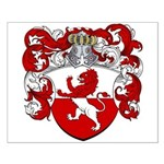 Van Hoven Coat of Arms Small Poster