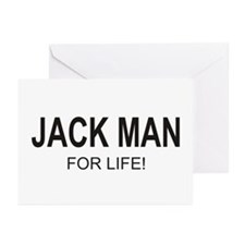 Jack Man Greeting Cards (Pk of 20)