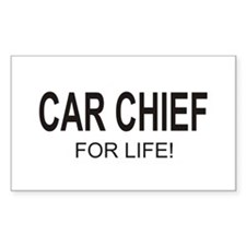 Car Chief Rectangle Sticker 50 pk)