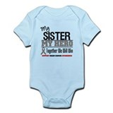BrainCancerHero Sister Infant Bodysuit