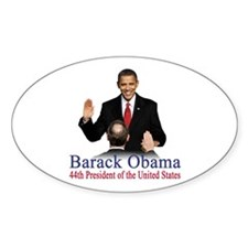 President Obama first black president Decal