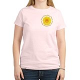 Yellow Daisy Junior Bridesmaid T-Shirt