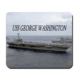 USS George Washington Mousepad
