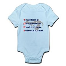Schutzhund is TOPS Infant Bodysuit