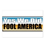 Yes We Did! Postcards (Package of 8)