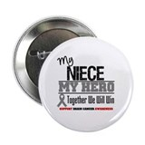 "BrainCancerHero Niece 2.25"" Button (10 pack)"