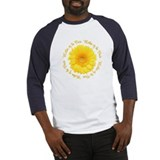 Yellow Daisy Mother of the Bride Baseball Jersey